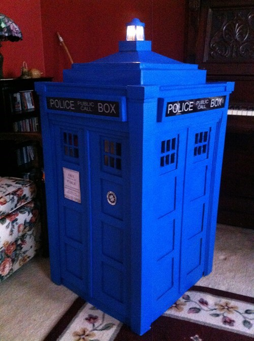 tardis doctor who DIY - 7701237248