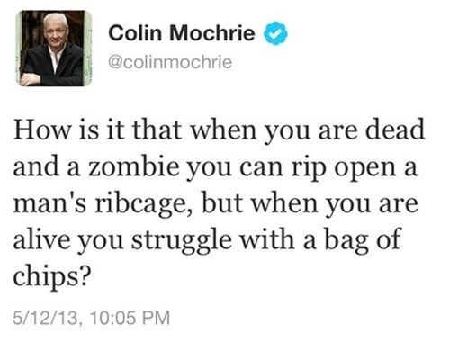 twitter zombie who's line is it anyway colin mochrie - 7701359616
