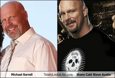 totally looks like,michael sorrell,stone cold steve austin,funny