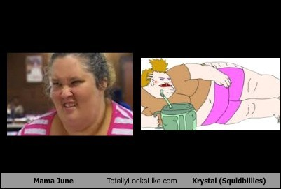 Mama June Totally Looks Like Krystal (Squidbillies)