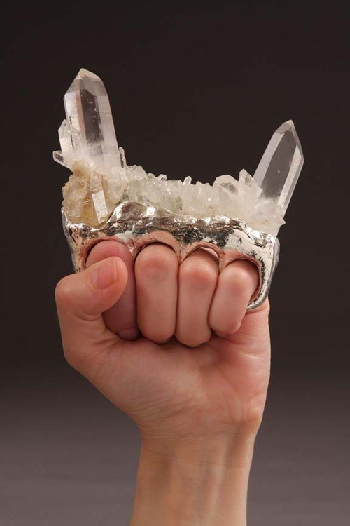 wtf,brass knuckles,funny,diamond