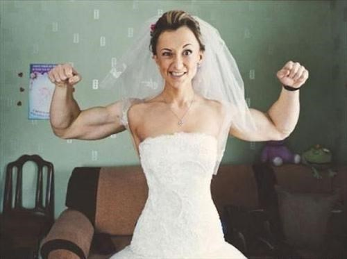 bride,roids,mismatch