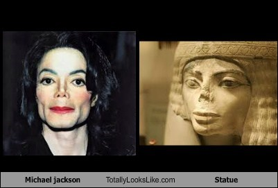 Michael jackson Totally Looks Like Statue