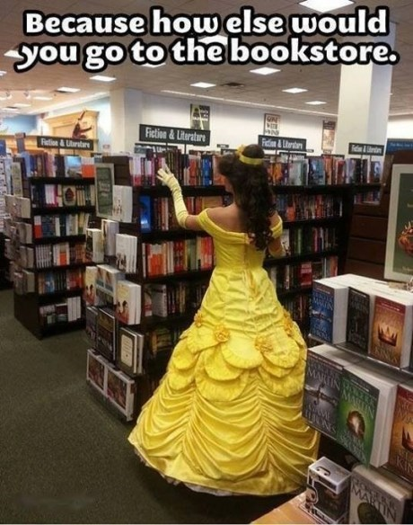 A Princess in the Fiction Section