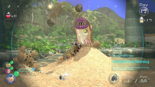 Video Game Coverage pikmin 3 - 7701586176