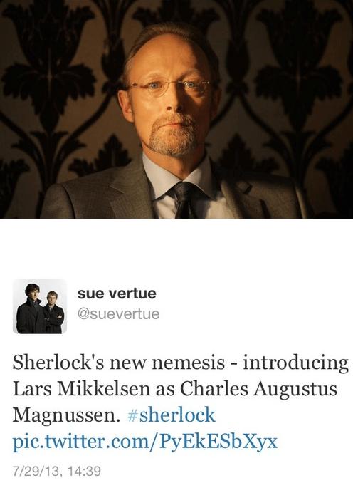 twitter news Sherlock bbc - 7701811968