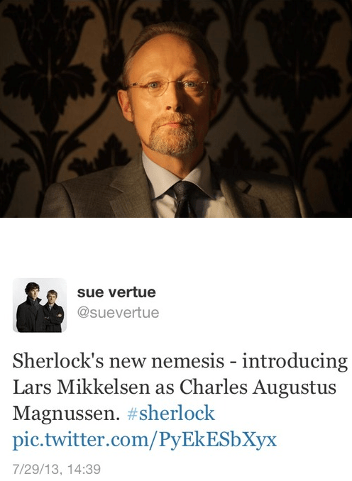 Sherlock Gets a New Villain