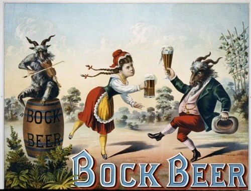 Wow, Bock Beer Must Get You Loaded...