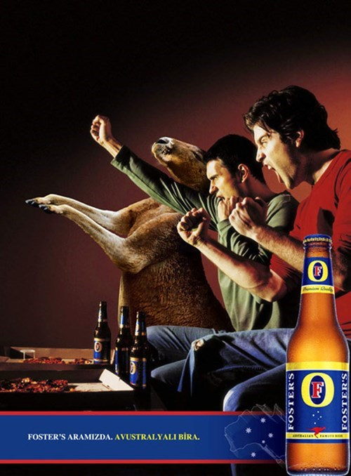 beer kangaroo ads Party fosters funny