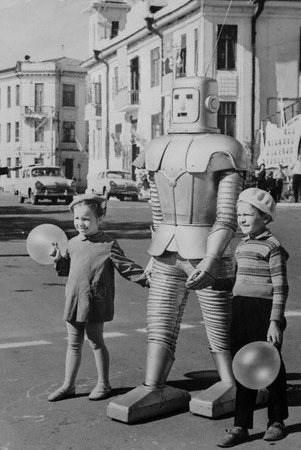 wtf kids robots funny - 7701936128