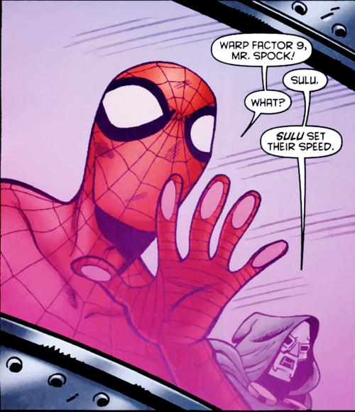 marvel Spider-Man doom comics off the page - 7701956864