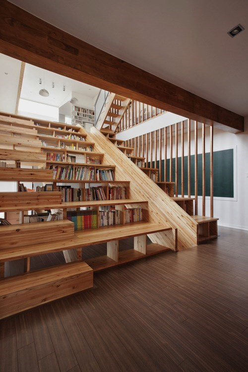 reading is sexy design stairs