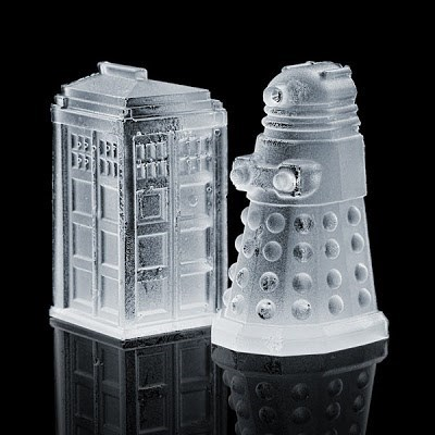 ice cubes nerdgasm doctor who funny - 7701979392