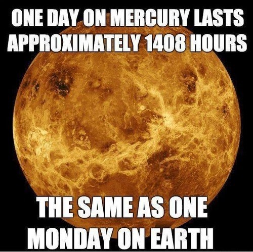 facts planets mercury science funny - 7702072320