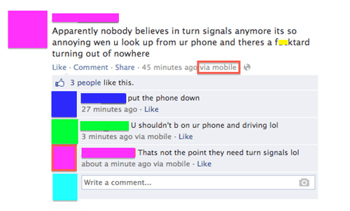 turn signals driving and texting failbook - 7702089728