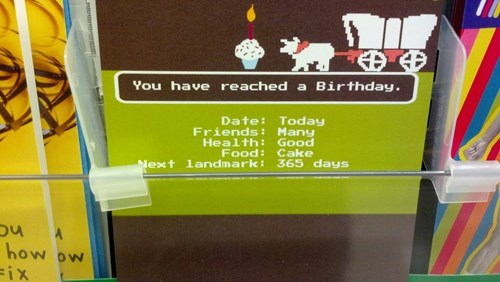 birthdays oregon trail card funny - 7702206720