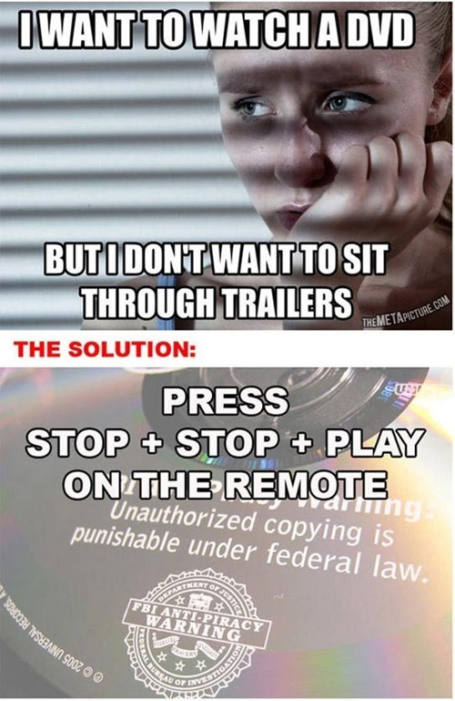 pro tip lifehacks dvd player funny - 7702214144