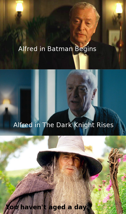 Lord of the Rings crossover alfred batman - 7702736896