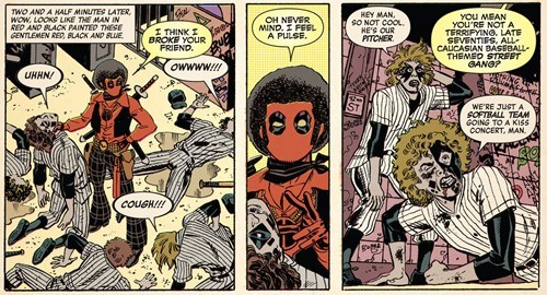 marvel wtf deadpool off the page