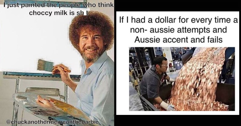 oz wtf strawberry milk australian memes australia chocolate milk funny memes stereotypes aussie choccy milk g day mate down under - 7703813