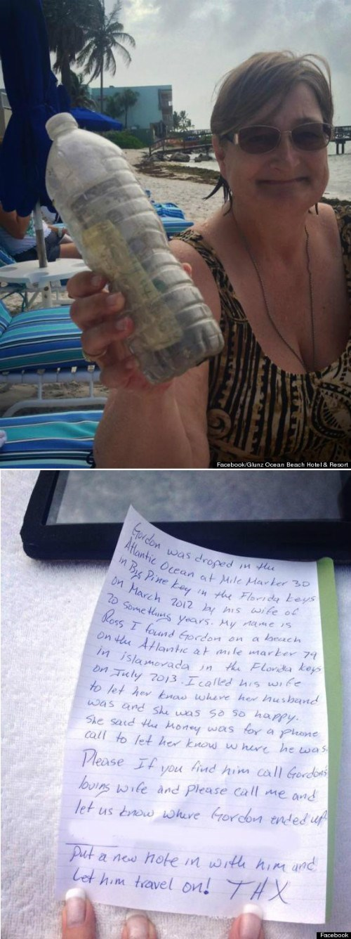 random act of kindness news Message In A Bottle restoring faith in humanity week Travel g rated win - 7703936512
