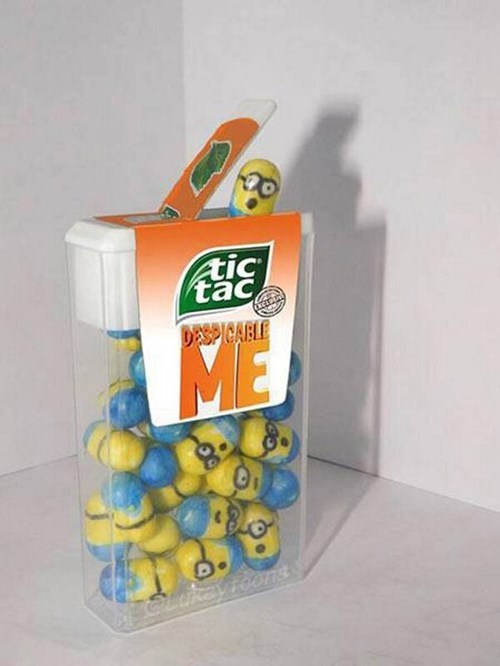 minions despicable me tictacs movies cute - 7704056320