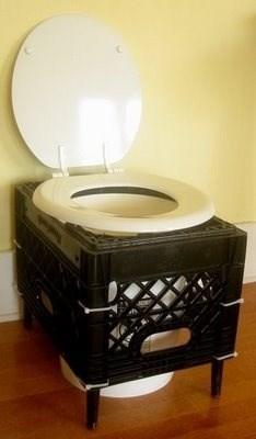 crate toilet - 7704090624