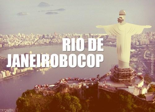 brazil pun rio de janeiro robocop - 7704154112