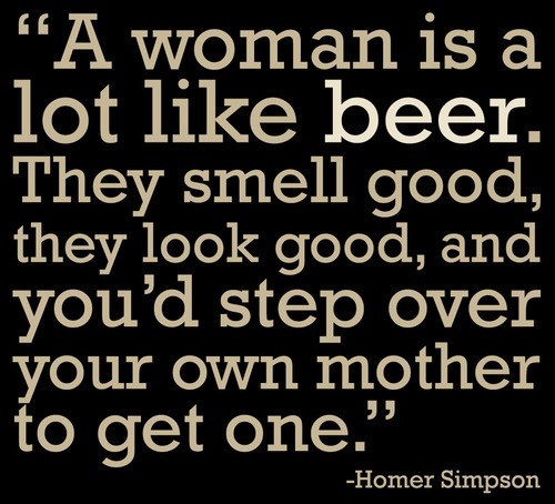 beer simpsons homer quote funny - 7704313856
