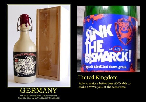 beer united kingdom Germany funny - 7704320256