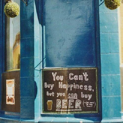 beer sign funny happiness - 7704328704