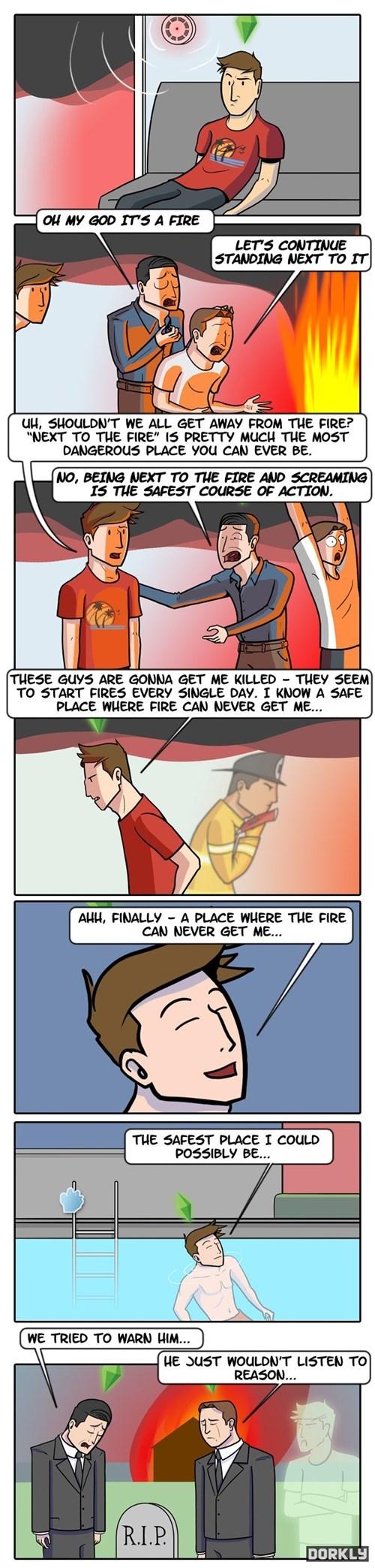 dorkly comics Sims - 7704348672