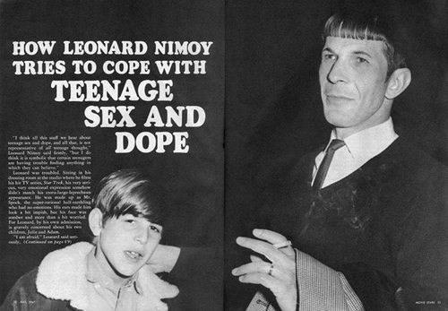 retro leonard nemoy nostalgia Spock funny - 7704419840