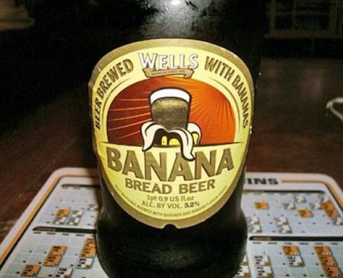 beer,funny,banana bread