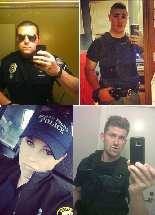 Single Topic Blog of the Day: Cop Selfies
