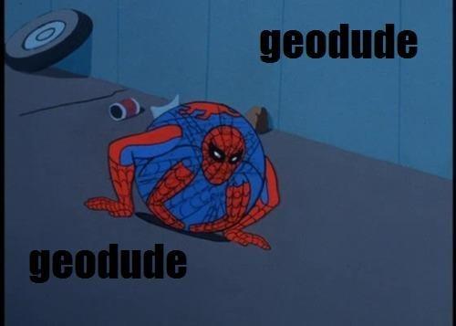 Spider-Man geodude - 7704511744