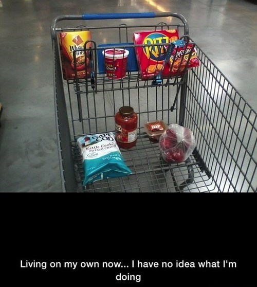 groceries shopping crackers condiments - 7704590848