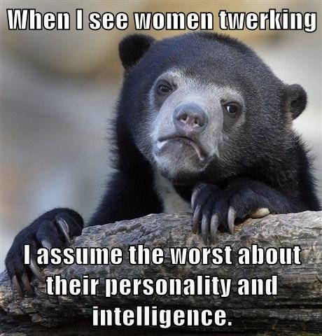 twerking,girls,Confession Bear