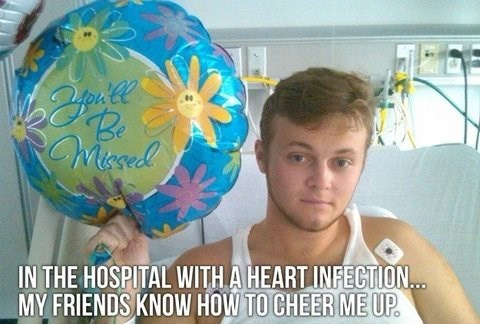 best friends,hospital,friends,sick