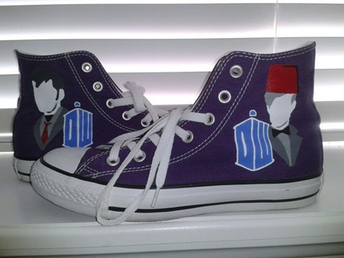 shoes for sale doctor who chucks - 7704903680