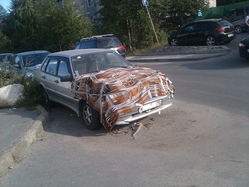 cars,duct tape,carpet