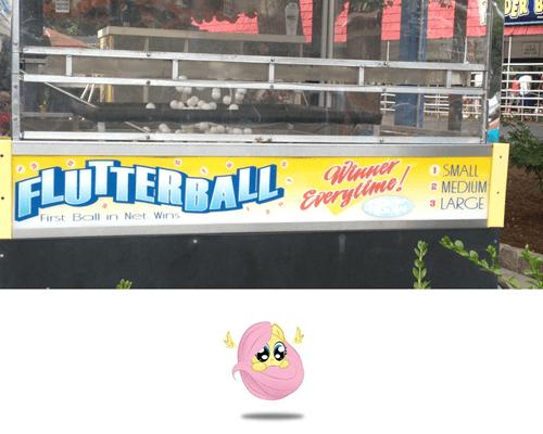 hershey park IRL flutterball - 7706733568