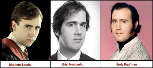 Krist Novoselic andy kaufman totally looks like Matthew Lewis funny - 7706745856