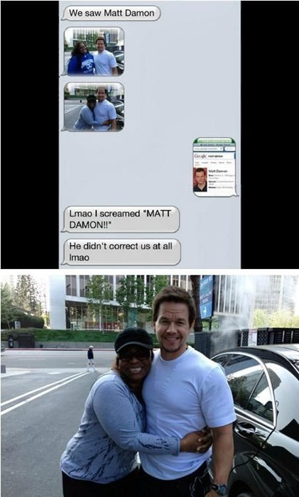 matt damon,FAIL,fans,Mark Wahlberg