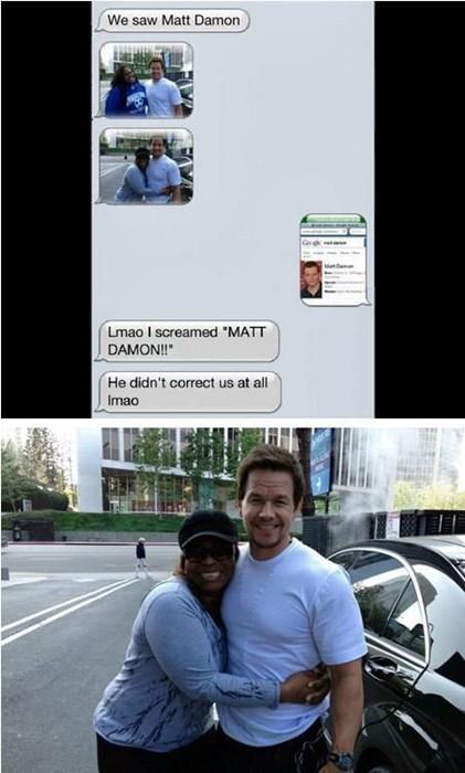 matt damon FAIL fans Mark Wahlberg - 7706876160