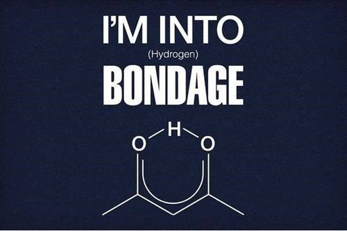 puns science funny hydrogen bonds molecules - 7706904832
