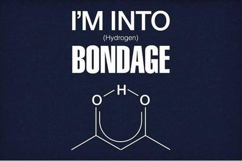 puns science funny hydrogen bonds molecules - 7706904832