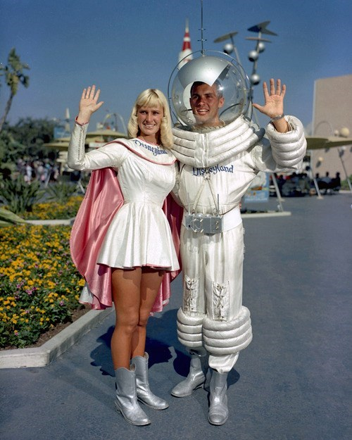 disney,space race,funny,vintage