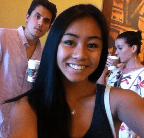 photobomb katy perry funny john mayer coffee