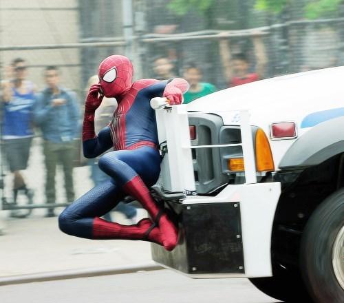 Spider-Man movies on set - 7707146752